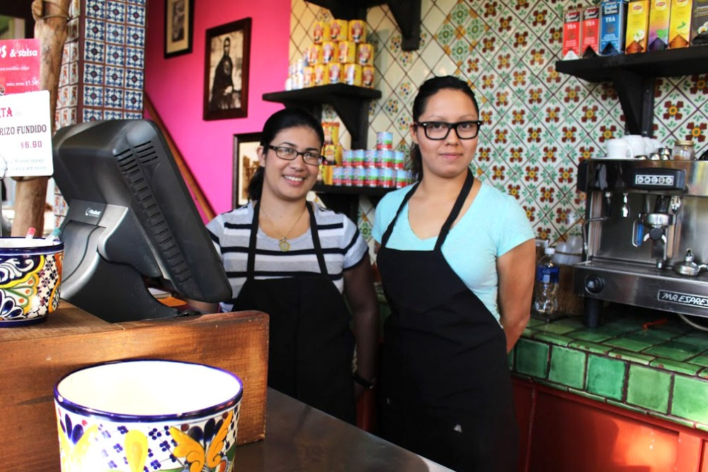 Cashiers at Taqueria Talavera in Berkeley, CA | Photo Credit: Carol Lee